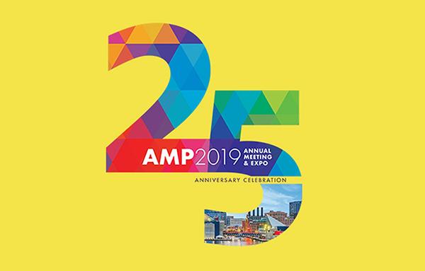 Association of Molecular Pathology 25th Anniversary Logo